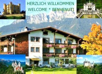 Landhaus Panorama - Apartment mit 2 Zimmern, Balkon und Bergblick