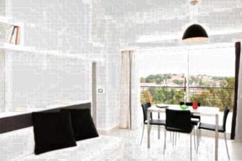 Lungotevere Suite - Apartment mit Terrasse (3 Erwachsene)