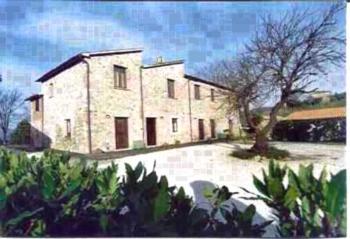 Agriturismo Barberani - Apartment mit 1 Schlafzimmer (4 Erwachsene)