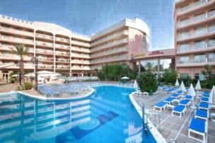 Apartamentos Dorada Palace - Apartment mit 1 Schlafzimmer (2 Erwachsene + 2 Kinder)