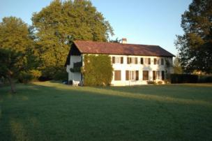 Traditionelles Haus im Baskenland