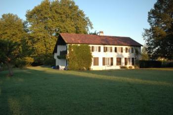 Traditionelles Haus im Baskenland