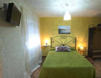Hostal El Patio - Zweibettzimmer mit Terrasse
