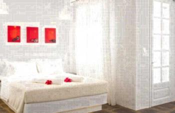 Scorpios Hotel & Suites - Apartment mit Meerblick (2 Erwachsene)