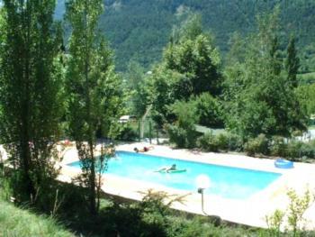 Camping-gîtes le Prieuré - Apartment mit Alkoven - Meleze