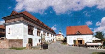 Penzion Vinařství Přítluky - 6-Bett-Zimmer mit Gemeinschaftsbad
