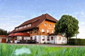 Gasthaus Zum Kreuz - Apartment mit 2 Schlafzimmern mit Balkon