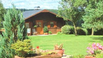 Ferienblockhaus zum Alleinbewohnen 3-Bett- Ferienblockhaus