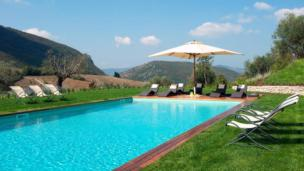 Exklusive Villa auf Landgut in Umbrien mit Liebhabergarten und Pool
