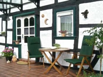Fachwerk-Ferienhaus Rothe 4-Bettwohnung (NR)