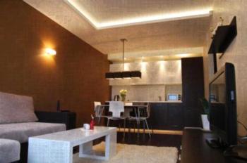 Luxury Vilnius - Apartment mit 1 Schlafzimmer und Balkon