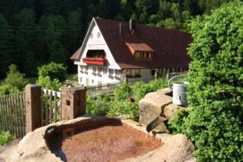 Hanselishof (Schenkenzell). 1_Ferienhaus Wohnung Tanne, 78qm, max. 5 Personen
