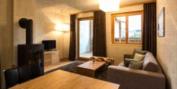 Alpine Lodge Lenzerheide - 2-Pers.-Ferienwohnung - Luxus