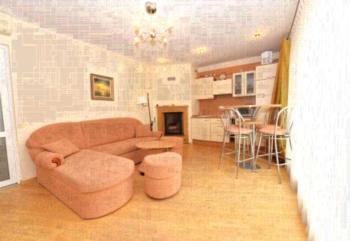 Apartamentai Kopos - Deluxe Apartment mit 1 Schlafzimmer und Kamin
