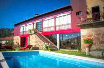 Casa de Chouselas - Apartment mit 1 Schlafzimmer