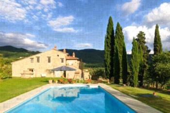 Allegro Agriturismo Argiano - Apartment mit 2 Schlafzimmern und Gartenblick