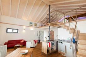 Traumhaftes Maisonette Studio Apartment / Ferienwohnung auf 2 Ebenen am Waldrand von Lahr (Schwarzwald) für 1-2 Personen