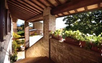 Agriturismo Bellarosa - Apartment mit 2 Schlafzimmern (4 Erwachsene)