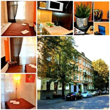 Orange Apartments - Standard Apartment mit 2 Schlafzimmern