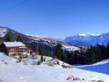 Ruhiges Chalet mit traumhafter Aussicht auf die Alpen