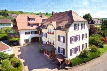 Appart-Hotel Badblick - Apartment mit 1 Schlafzimmer und Gartenblick