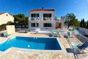 Private accommodation - villa Sumartin 7483