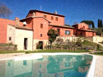 Tenuta San Savino delle Rocchette - Apartment mit 1 Schlafzimmer und Gartenblick