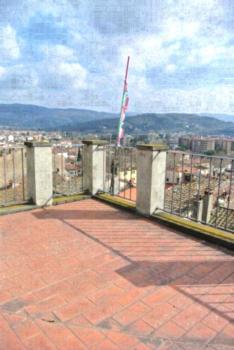 Casa Torre - Apartment mit 1 Schlafzimmer und Terrasse - Dachgeschoss