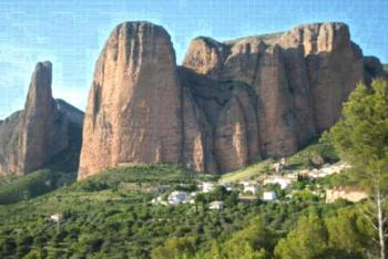 Apartamentos Turísticos Mallos de Huesca - Apartment mit 3 Schlafzimmern