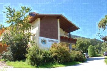 Pension Unterhof - Apartment mit Terrasse