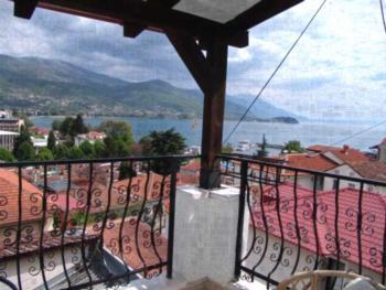 Villa Stefanija - Studio mit Balkon und Seeblick