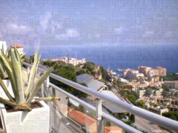 Penthouse Monaco's Garden - Apartment mit Terrasse