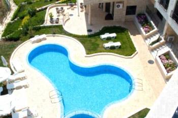 Lozenets VIP Homes Apartments - Apartament z 1 sypialnią, balkonem i widokiem na morze (4 osoby dorosłe)