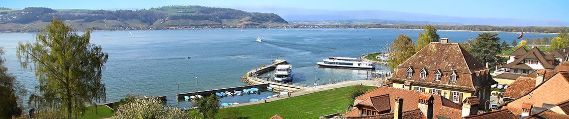 Lac de Morat, Suisse