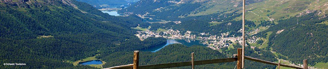 St. Moritz, Bündnerland, Schweiz