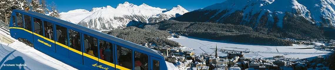 St. Moritz, Graubünden, Schweiz