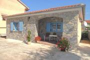 Ferienhaus Prendivoj mit Blick auf den Garten Ferienhaus in Kroatien