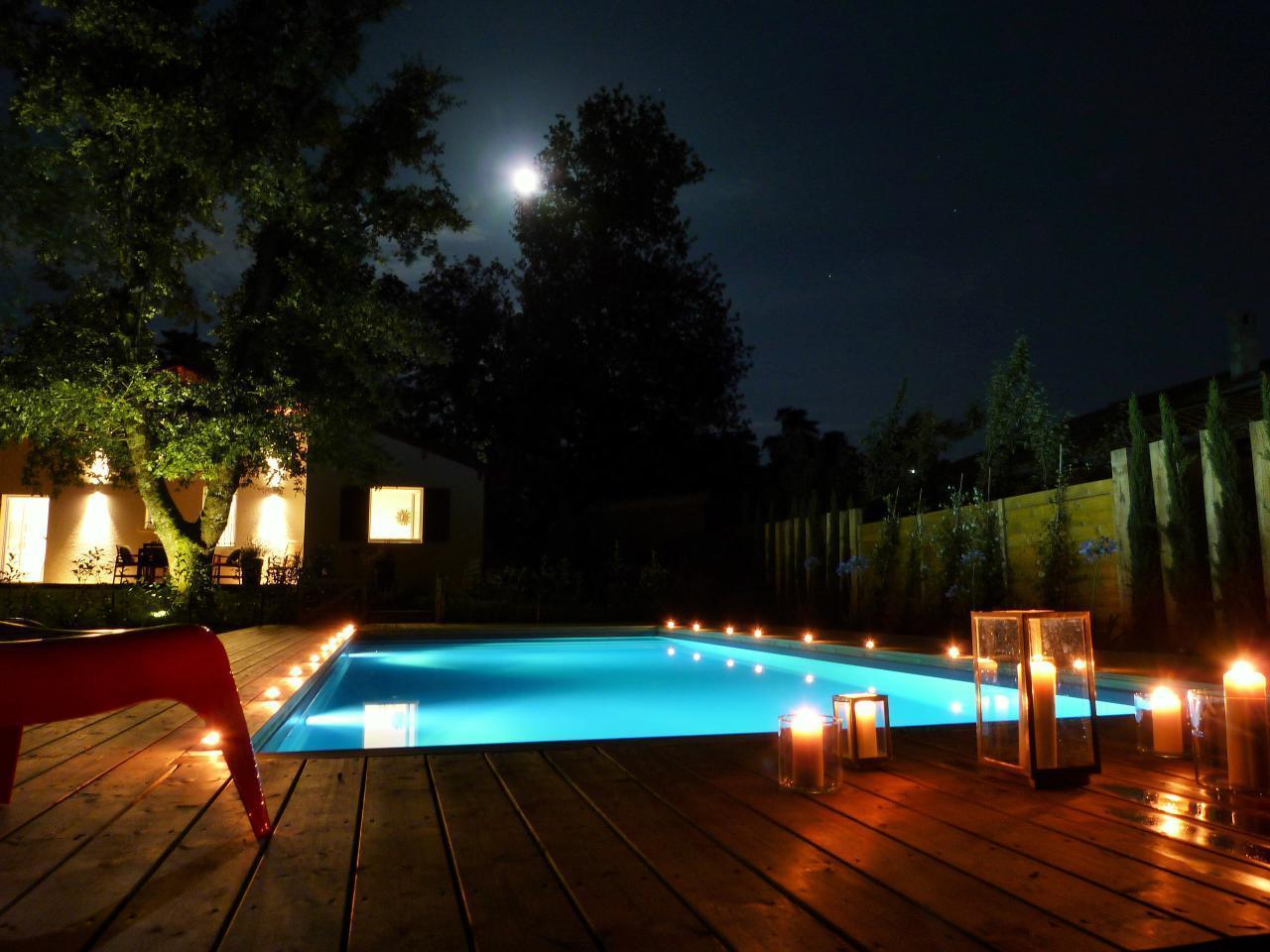 Maison de vacances Exklusives Landhaus mit Top-Küche, beheizter Pool, Naturgarten, unweit von St. Emilion, Bo (1040506), Martillac, Gironde, Aquitaine, France, image 45