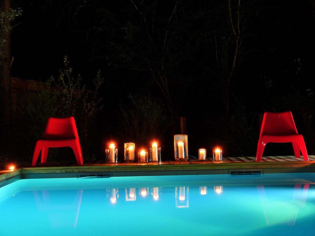Maison de vacances Exklusives Landhaus mit Top-Küche, beheizter Pool, Naturgarten, unweit von St. Emilion, Bo (1040506), Martillac, Gironde, Aquitaine, France, image 46