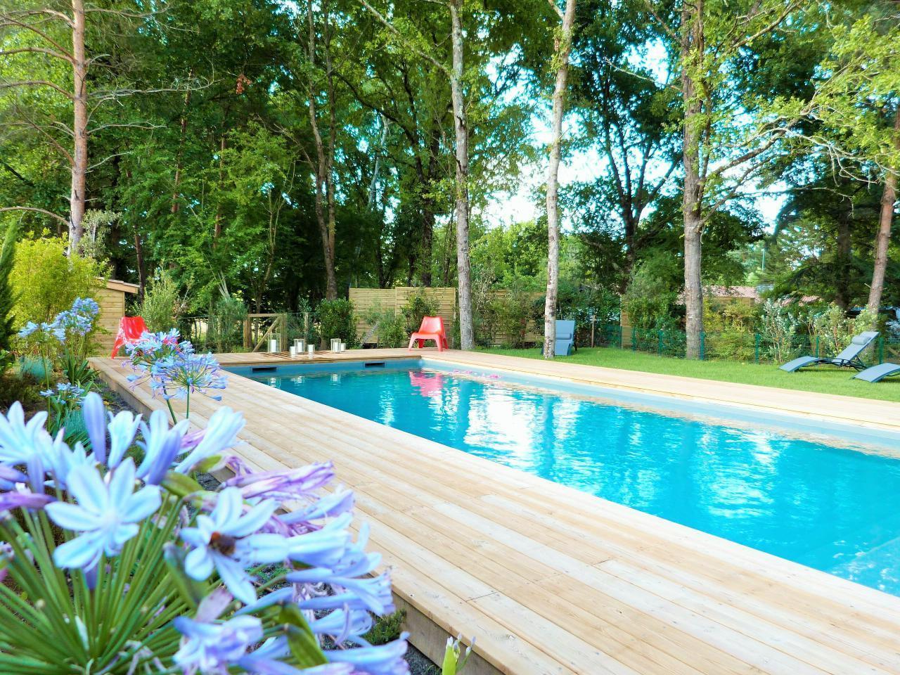 Maison de vacances Exklusives Landhaus mit Top-Küche, beheizter Pool, Naturgarten, unweit von St. Emilion, Bo (1040506), Martillac, Gironde, Aquitaine, France, image 35