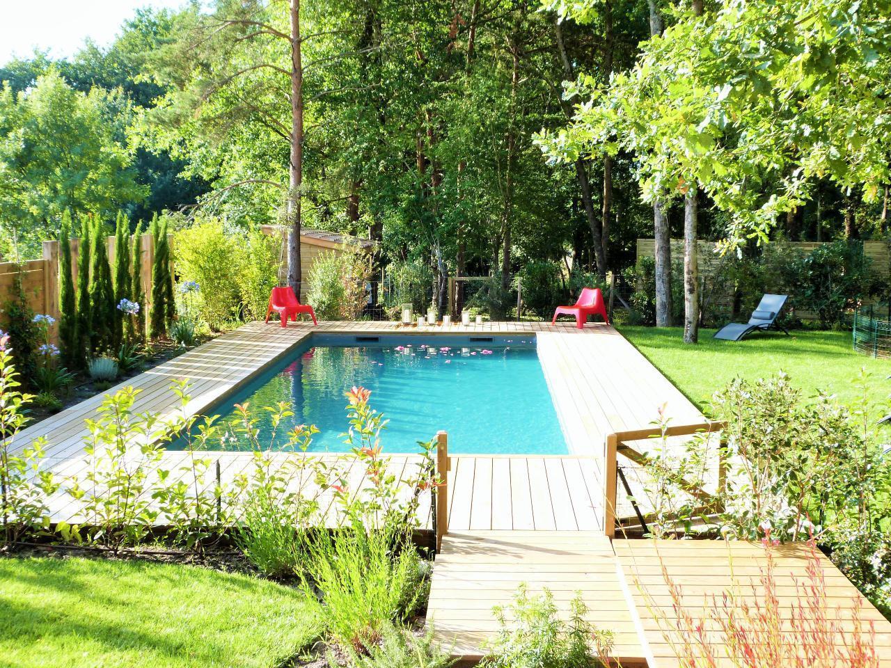 Maison de vacances Exklusives Landhaus mit Top-Küche, beheizter Pool, Naturgarten, unweit von St. Emilion, Bo (1040506), Martillac, Gironde, Aquitaine, France, image 34