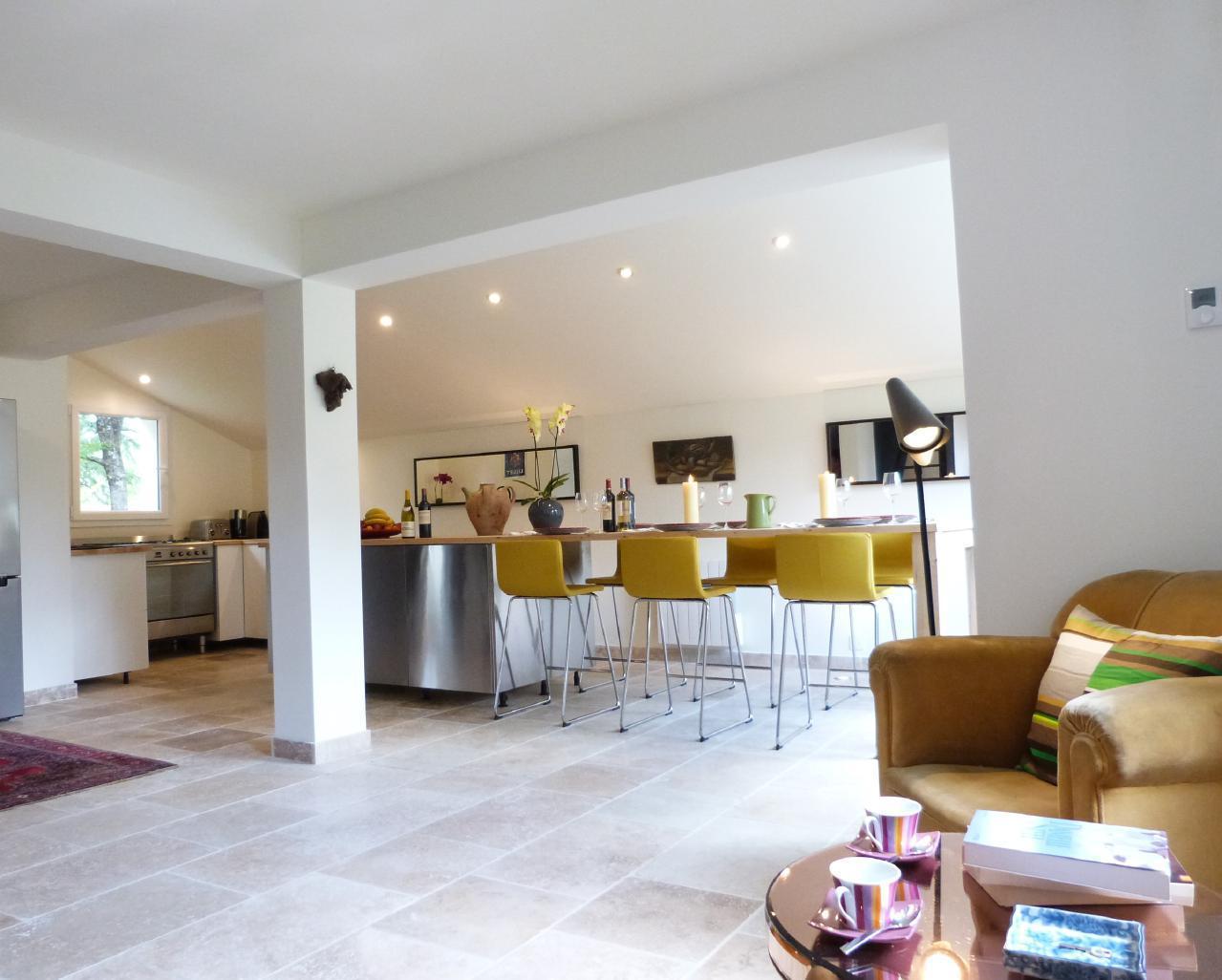 Maison de vacances Exklusives Landhaus mit Top-Küche, beheizter Pool, Naturgarten, unweit von St. Emilion, Bo (1040506), Martillac, Gironde, Aquitaine, France, image 9
