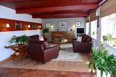 Exklusives reetdach landhaus mit hallenbad und sauna - Kaminofen landhaus ...