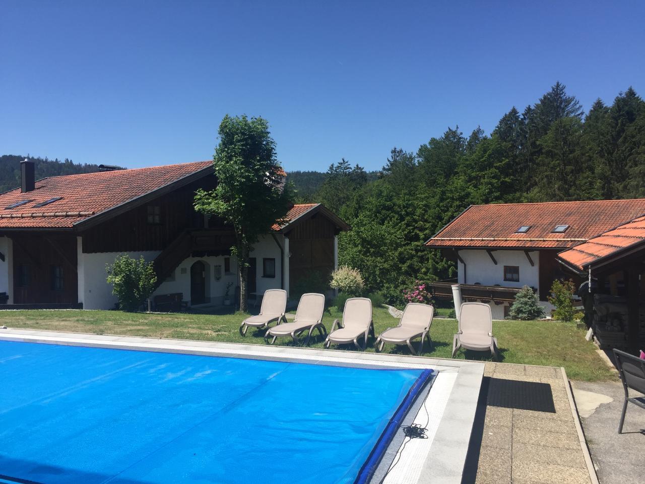 Ferienwohnung Große Ferienwohnung mit Pool, Schwimmbad und Sauna (1150916), Hauzenberg, Bayerischer Wald, Bayern, Deutschland, Bild 25