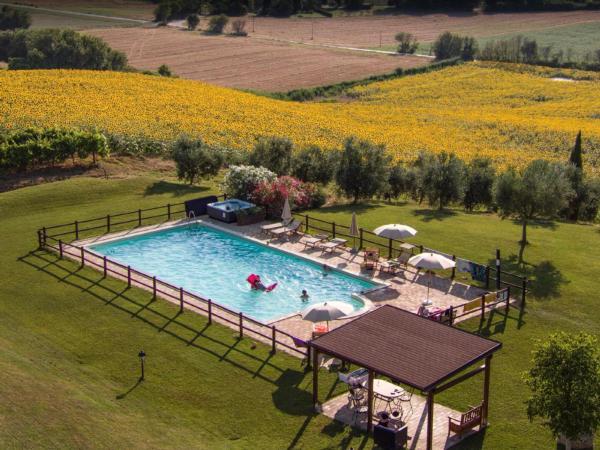 Ferienwohnung Appartement mit Swimmingpool und Jacuzzi (1151333), Corinaldo, Ancona, Marken, Italien, Bild 1