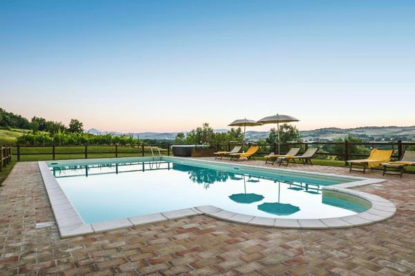 Ferienwohnung Appartement mit Swimmingpool und Jacuzzi (1151333), Corinaldo, Ancona, Marken, Italien, Bild 4