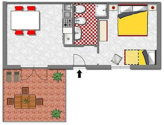Ferienwohnung Palinuro - Residence Trivento (117564), Palinuro, Cilento, Kampanien, Italien, Bild 30