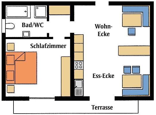Ferienwohnung in Blaibach 2 (119098), Blaibach, Bayerischer Wald, Bayern, Deutschland, Bild 8