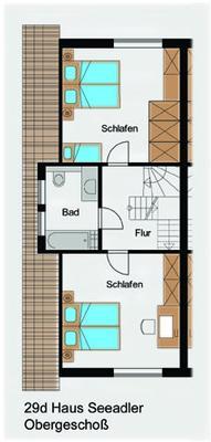 Ferienhaus Haus Seeadler (127694), Groß Zicker, Rügen, Mecklenburg-Vorpommern, Deutschland, Bild 29