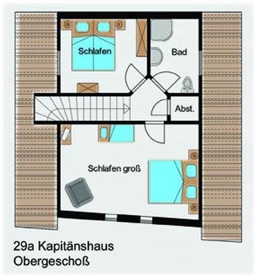 Ferienhaus Kapitänshaus (127695), Groß Zicker, Rügen, Mecklenburg-Vorpommern, Deutschland, Bild 27
